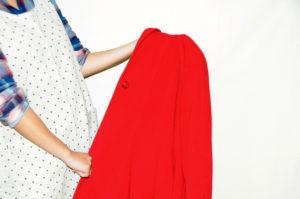 衣類別洗濯方法 コート07
