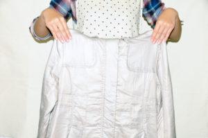 衣類別洗濯方法 ダウンジャケット04