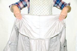 衣類別洗濯方法 ダウンジャケット07
