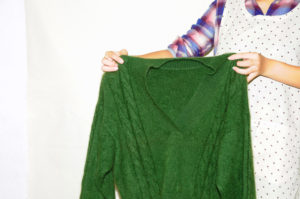 衣類別洗濯方法 セーター04
