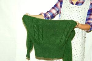 衣類別洗濯方法 セーター06