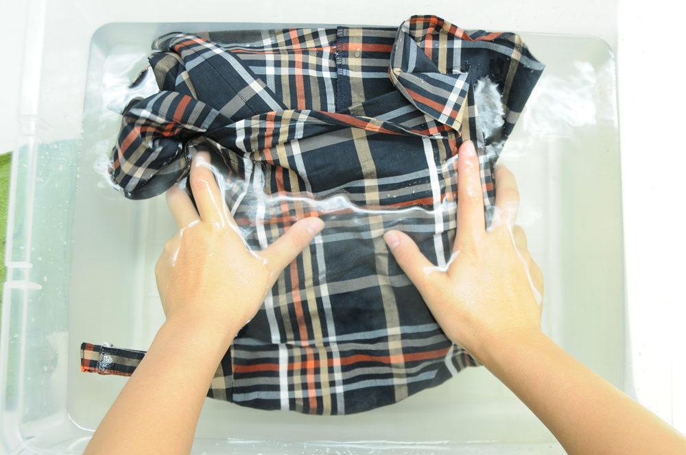 衣類別洗濯方法 ブラウス03