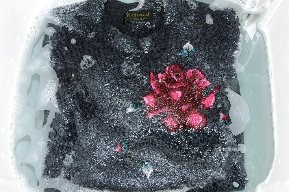 カシミヤセーターの洗い方-2