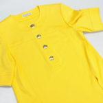 実証!お家でできる綿100%黄色のシャツの洗濯。サンベック洗剤の洗い上がり#27